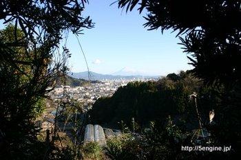 小野山からみる富士山